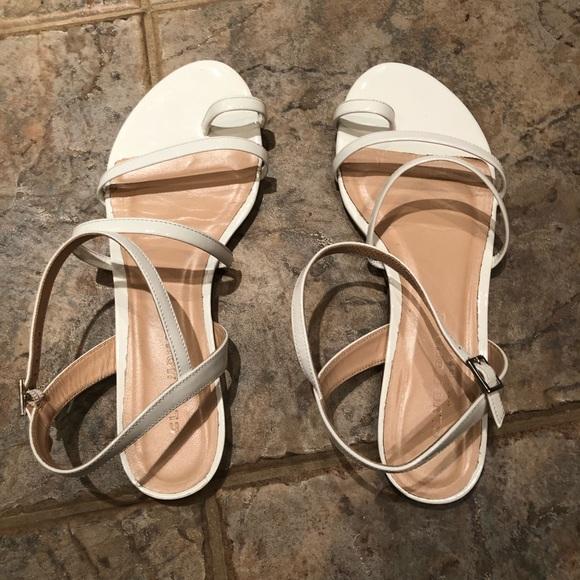 Leather Strappy Sandal   Poshmark